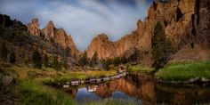 Photograph Early Morning Smith Rock by Greg Stokesbury on 500px