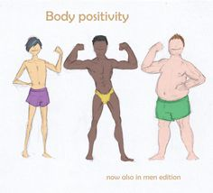 body positive for men - Google Search