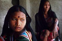 Rana Tharu Women by Eric Valli