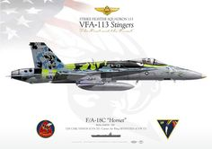 "UNITED STATES NAVYStrike Fighter Squadron 192 (VFA-113) ""Stingers""USS CARL VINSON (CVN 70) / Carrier Air Wing SEVENTEEN (CVW 17)"