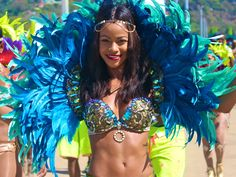 What to Know About Trinidad and Tobago's Carnival, the Biggest Party of the Season - Condé Nast Traveler