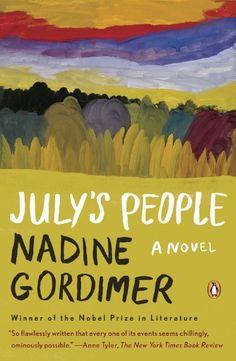 July's People by Nadine Gordimer http://www.amazon.com/dp/0140061401/ref=cm_sw_r_pi_dp_sudXtb1C1T9E3570