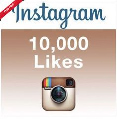 (10,000) Instagram/Likes - Ultra Fast and 100% Safe Top  Seller
