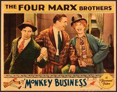 Marx Brothers Monkey Business Lobby card! 1931