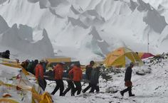 All Climbers at Camps High Up Everest Airlifted to Safety