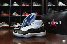 7ed6e34d7f5e Air Jordan 11 Concord • The Grail   Ward 1 Design