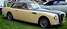 La Siata Berlina, cette voiture de collection fut construite de 1952 à 1954.