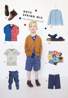 Preppy Page Boy spring style looks