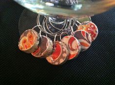 Cork Wine Charms Upcycled and Repurposed by TrishasDandelion, $7.00