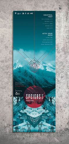SPEIGAS 3 Festival - Proposal by Alva Aur, via Behance