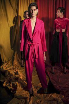 Marta Jakubowski, Automne/Hiver 2017, Londres, Womenswear