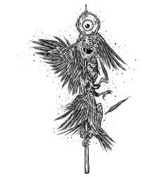 Ravens Satay Calling