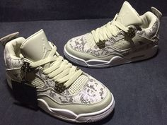 low priced 114df f8da1 Nike Air Jordan 4 IV Retro Premium Pinnacle Snakeskin Men Shoes AAA,Price   85