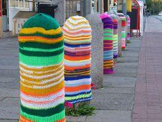 Knit Graffiti | Knitted Graffiti - a gallery on Flickr