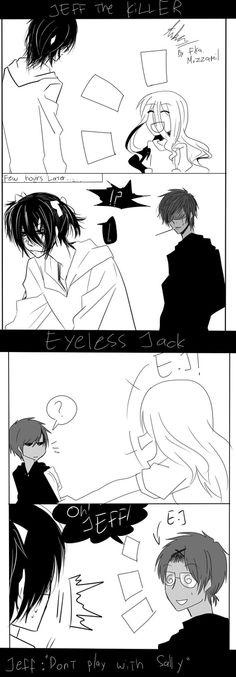 Creepypasta comic jeff the killer sally eyeless jack