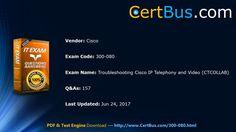 Free Certbus Cisco 300-080 VCE and PDF, Exam Materials Instant Download