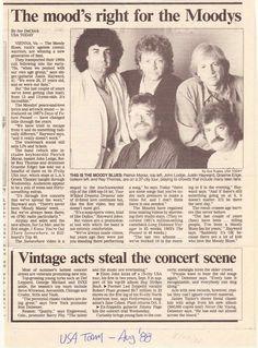 The Moody Blues 1988