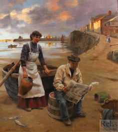 At Daybreak by Gregory Frank Harris