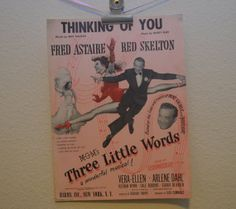Vintage 1927 Thinking of You Music and Song by FloridaFindersPaper, $15.00
