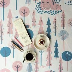 Sketching #february #sunday #sketch #illustration #coffee #runebergintorttu #talviuniset #polkkajam