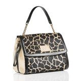 VCD Classic Bag in Cappuccino/Black Giraffe Print Calf Hair and Leathe Giraffe Print, Beautiful Bags, Louis Vuitton Damier, Calves, Shoulder Bag, Handbags, Dean, Classic, Pattern
