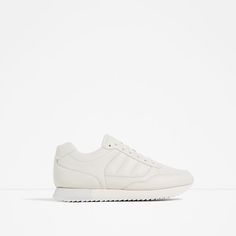 ZARA - NEW IN - LACE-UP SNEAKERS