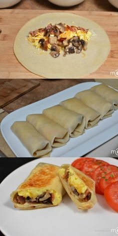 Our go to breakfast burrito recipe it freezes well for future meals. Our go to breakfast burrito recipe it freezes well for future meals. Source by natashaskitchen Breakfast Dishes, Breakfast Time, Breakfast Recipes, Frozen Breakfast, Breakfast Ideas, Uncooked Tortillas, Wraps, Breakfast Burritos, Brunch Recipes