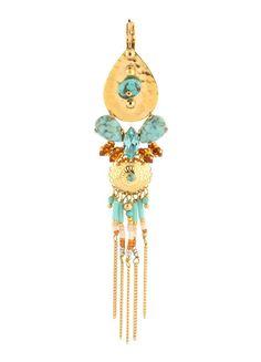 Katoucha Boucles d'oreilles  Turquoise
