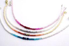 Dainty seed bead friendship bracelet by Artlox on Etsy