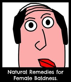 natural remedies for female baldness