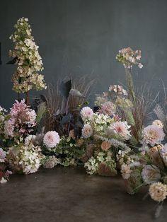 Floral Wedding, Wedding Flowers, Tall Floral Arrangements, Head Table Wedding, Wedding Flower Inspiration, Floral Arch, Wedding Events, Wedding Decor, Weddings