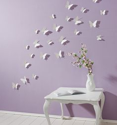 Schmetterlinge 3D Wandtattoo Wanddeko Wanddekoration Wandtattoos Wand Deko 3 D