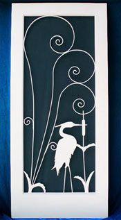 Floridaian Screen Doors Vintage Retro Look Door Inserts Custom