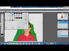 ▶ Pixlr Removing Image Background - YouTube