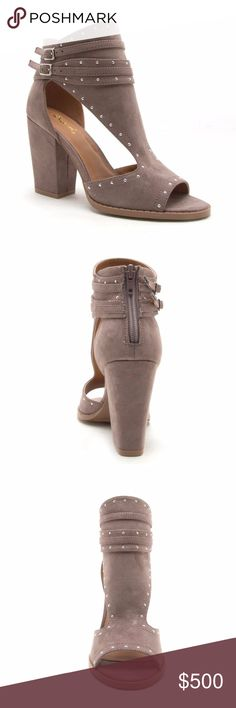 COMING SOON! Adley Block Heel Bootie TAUPE Will be priced at $69 PRICE FIRM Reserve your size today! Shoes