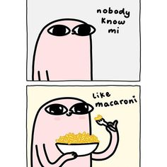 Macaroni is the homie that's always there 4 mi ily