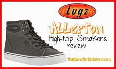 Men's Lugz Allerton Canvas High Top Sneakers Review + Upcoming Giveaway!