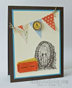 Feeling Sentimental, Ferris Wheel by patstamps2001 - Cards and Paper Crafts at Splitcoaststampers