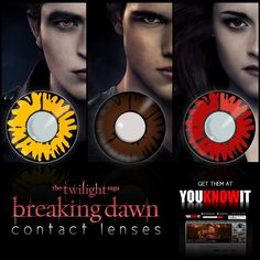 Get your Twilight lenses in time for Halloween http://www.youknowit.com/online-shop/twilight-contact-lenses.cfm