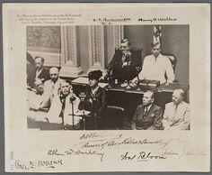 Koningin Wilhelmina spreekt het Amerikaans congres toe / Queen Wilhelmina address the U. S. Congress during World War II, August 6, 1942 (Dutch Nationaal Archief / National Archive)