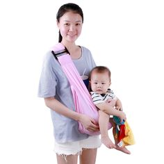 34daad757fb LAIMALA Breathable Baby Wrap Soft Infant Carrier Sling