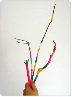 Yarn Sticks