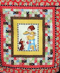 The Country Schoolhouse Quilt Shop sells quality quilt kits from Moda and custom designs Quilt Baby, Baby Quilts To Make, Quilt Kits, Quilt Blocks, Mary Engelbreit Fabric, Quilt Border, Animal Crackers, Panel Quilts, Scrappy Quilts