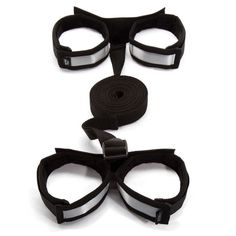 Experience the exhilaration of total vulnerability with the Fifty Shades of Grey Control Freak Under the Bed Stretcher Set. Suitable for any bed, the faux fur-lined wrist and ankle cuffs provide total restraint, leaving sexual pleasure entirely in a lover's hands. [$59.99]