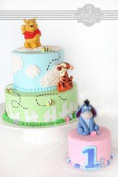 Winnie the Poo — Children's Birthday Cakes