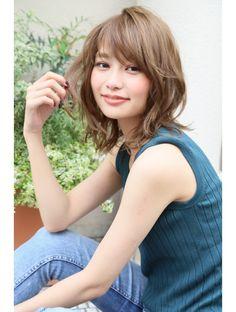 Hair style hair style - All For Colors Hair Blonde Hair Korean, Ash Blonde Hair, Short Permed Hair, Permed Hairstyles, Medium Hair Styles, Curly Hair Styles, Shot Hair Styles, Hair Arrange, Japanese Hairstyle