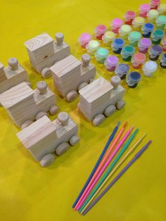 Welcome to my Little Artist Shop! Having a Train Party? Need Train party favors? Heres a cute and creative party favor and/or activity for
