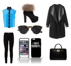 """""""#68"""" by holly-loves-cats ❤ liked on Polyvore featuring FAUSTO PUGLISI, 7 For All Mankind, Mulberry, Christian Dior and Columbia"""