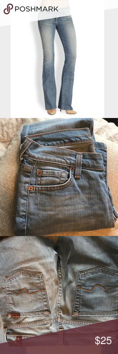 7 For All Mankind Bootcut jeans Great condition boot cut jeans 7 For All Mankind Jeans Boot Cut