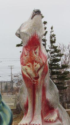 Wolf on wolf